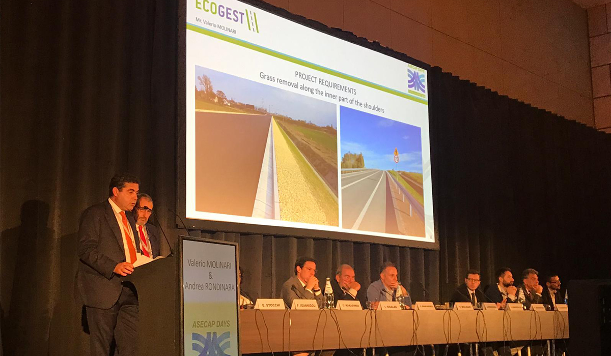 Ecogest protagonista al congresso ASECAP in Grecia - Slides e Video