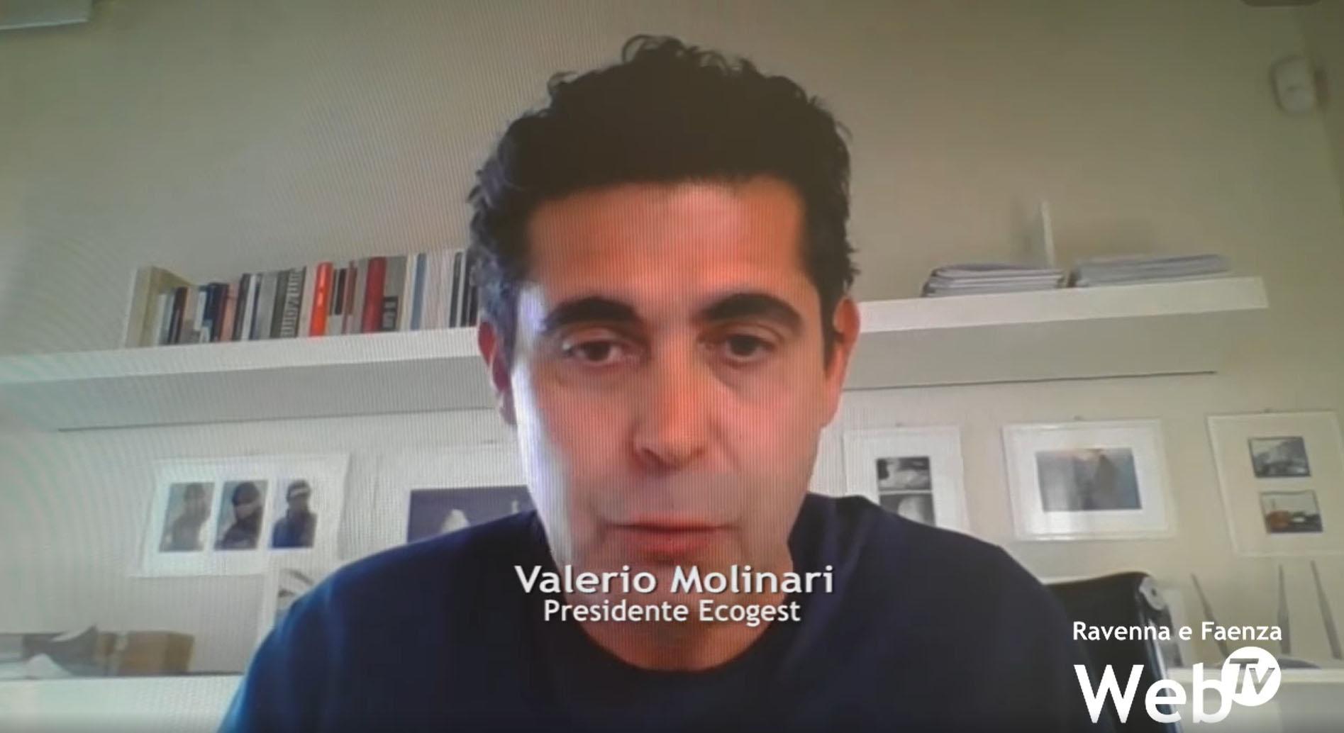 Gesto di solidarietà di Ecogest: intervista a Valerio Molinari su Ravenna WebTv