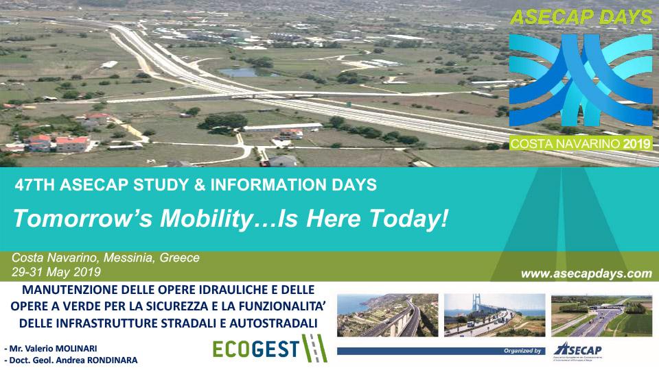 Manutenzione delle opere idrauliche e delle opere a verde per la sicurezza e la funzionalità delle infrastrutture stradali e autostradali