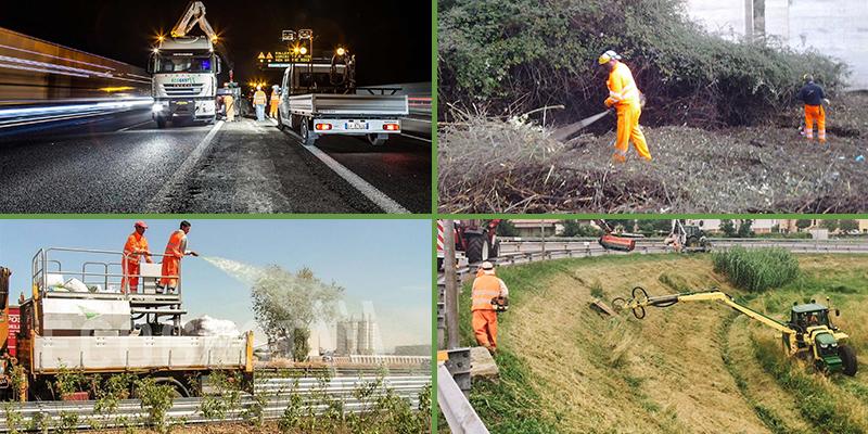 Manutenzione del verde strade e autostrade, Ecogest