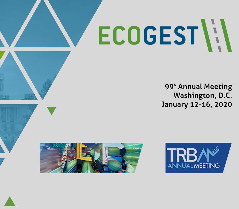 Ecogest parteciperà al 99° meeting annuale della TRB a Washington