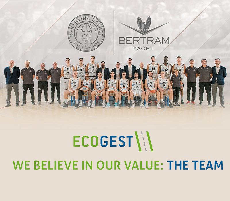 Ecogest nuovo Top Partner di Bertram Derthona Basket