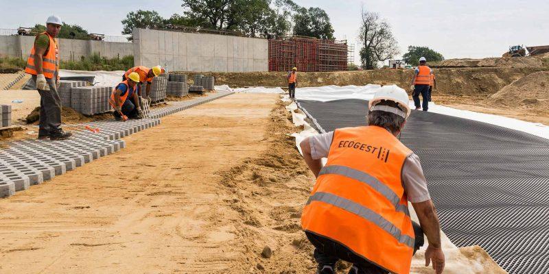 Lavori edili stradali, Ecogest