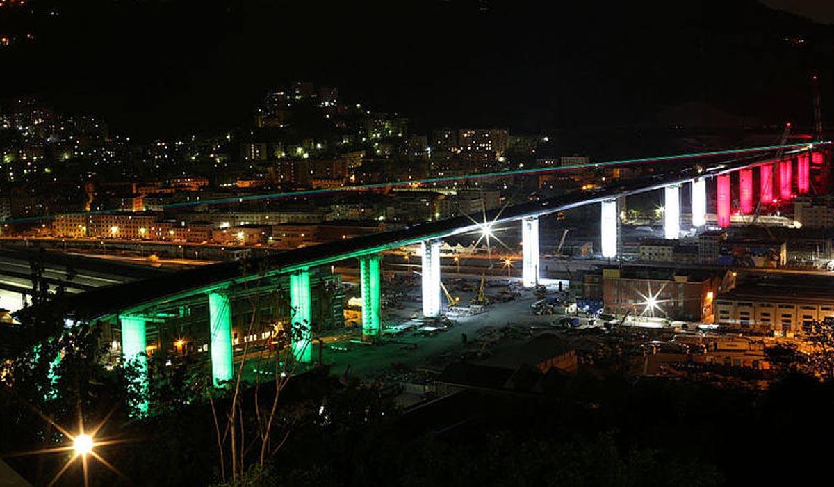 Oltre 40 mila transiti al giorno sul nuovo ponte di Genova