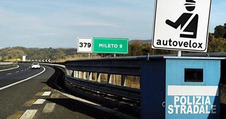 Autostrade: senza Tutor tornano gli Autovelox. Ecco la mappa delle postazioni fisse