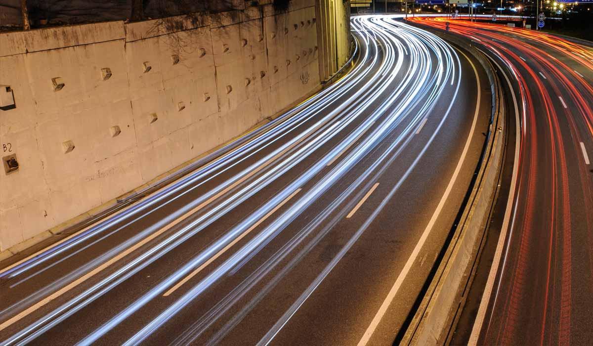 Crollo del traffico autostradale italiano durante il primo semestre del 2020