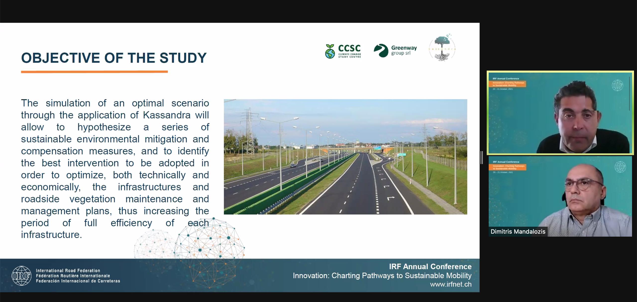 Ecogest protagonista alla conferenza mondiale sulla mobilità sostenibile IRF