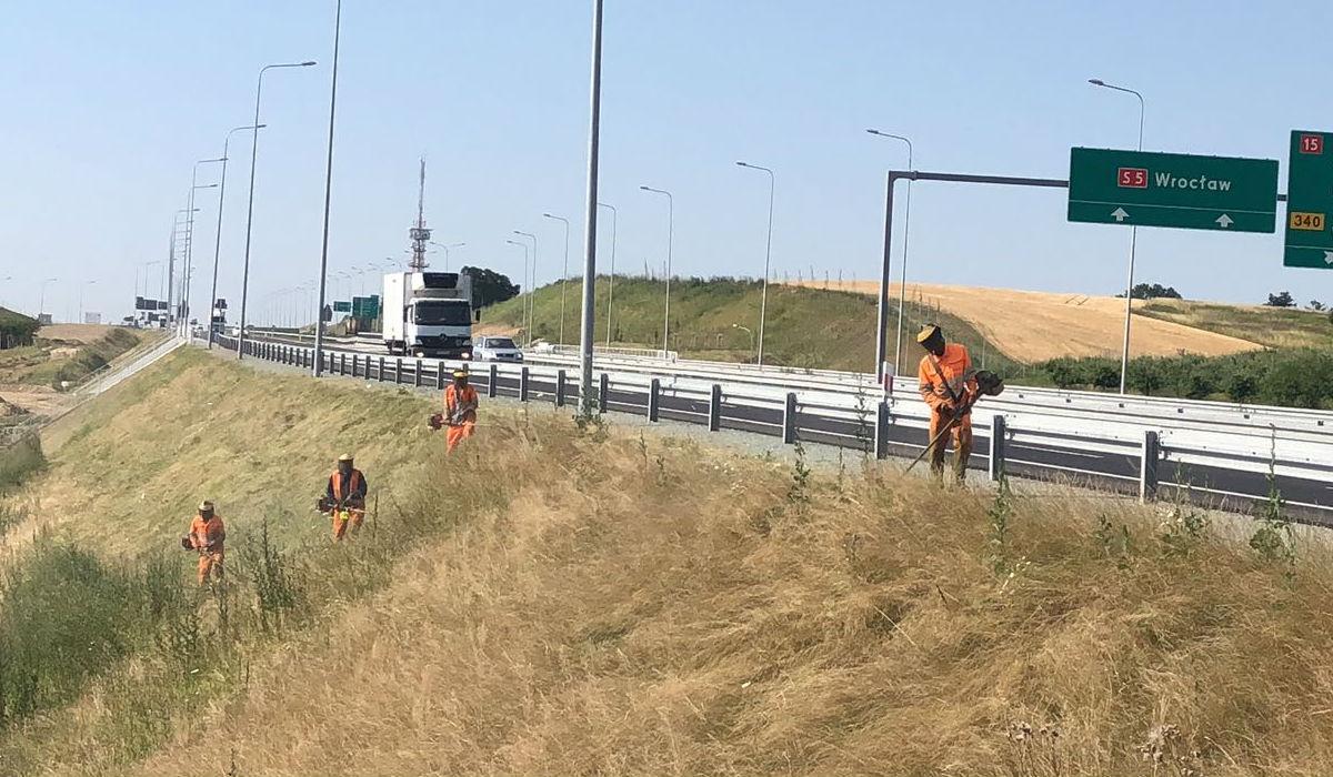 Prosegue l'attività di Ecogest in Polonia sulla S5 Wroclaw-Poznan