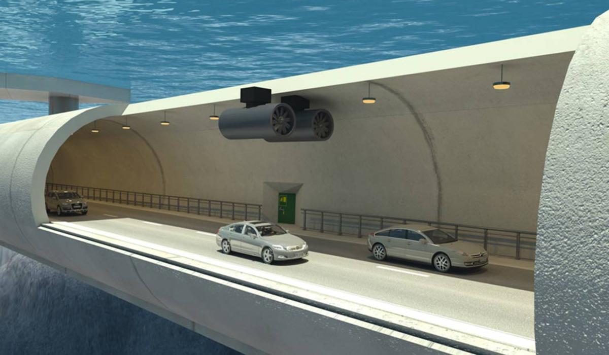 """La Norvegia e la Danimarca saranno collegate da un ponte sommerso di """"Archimede"""""""
