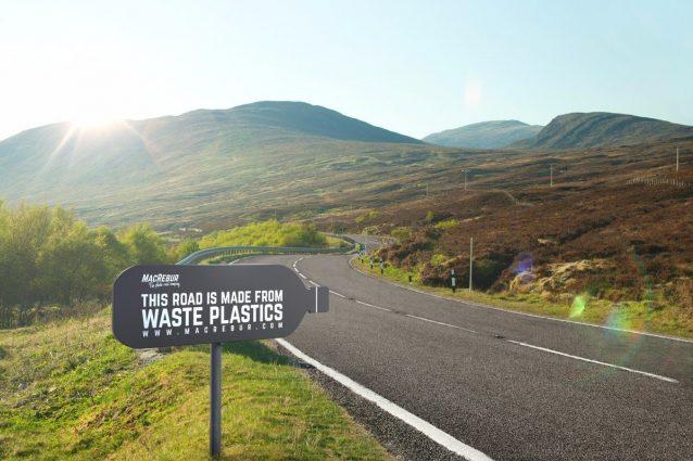 Londra: nuove strade fatte con l'asfalto che ricicla la plastica