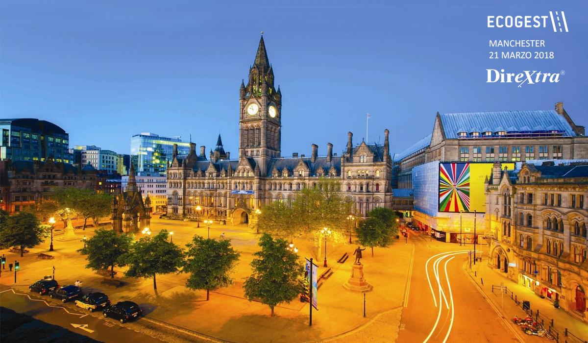 Dirextra sceglie Ecogest come esperienza imprenditoriale simbolo da presentare al Master di Manchester