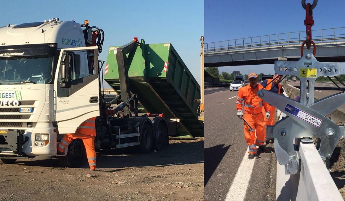Ecogest SpA si aggiudica un lotto di MOR (manutenzione ordinaria) lungo la A5.