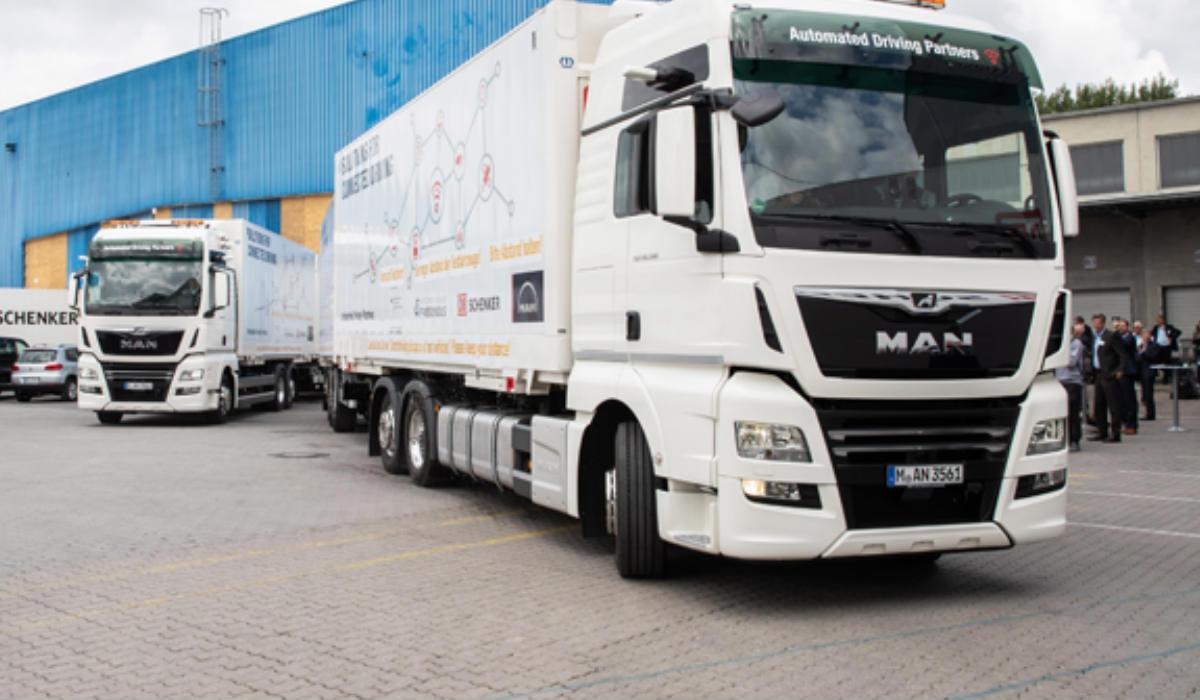 Platooning: in Germania la prima applicazione reale di veicoli Man in rete