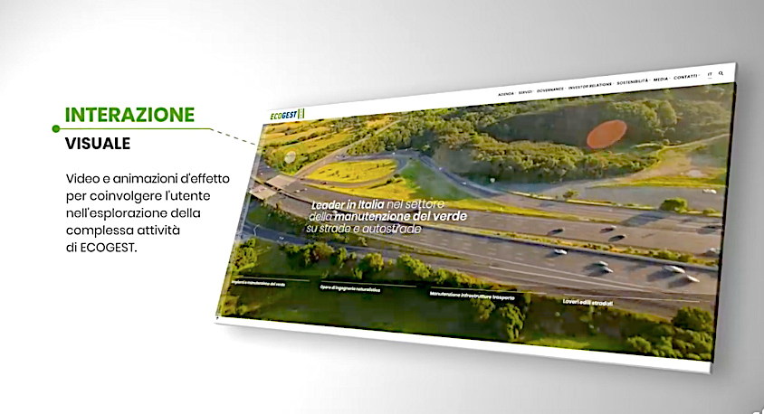 Online il nuovo sito di Ecogest SpA